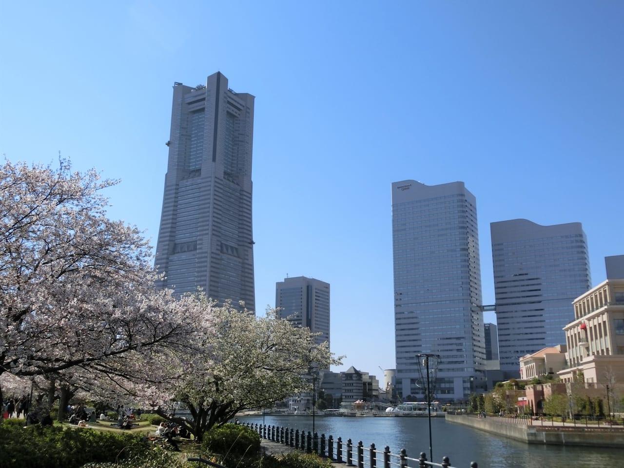 うららかな春の日の横浜